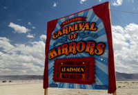 Carnival of Mirrors Entrance Sign