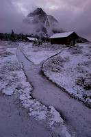 Snow Paths for Mount Assiniboine Lodges