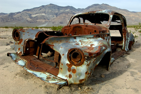 Rusty Car in Panamint Valley Death Valley
