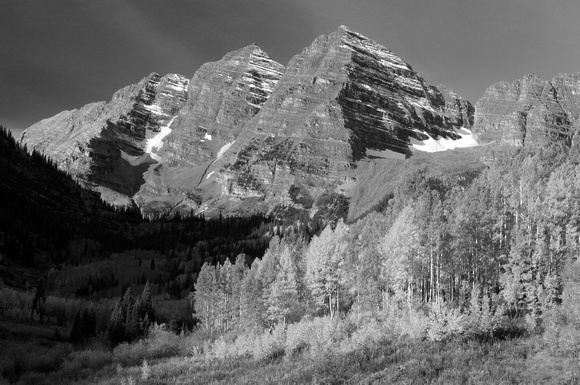 The Maroon Bells in the Fall, Colorado Rockies