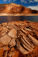 Rocky Shore of Lake Powell
