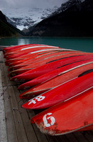 Canoes at Rest, Lake Louise