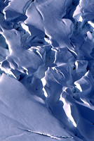 Crevasses in an Alaska Glacier
