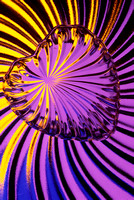 Heart in Purple and Yellow
