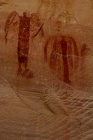 Pictographs inthe Buckhorn Wash