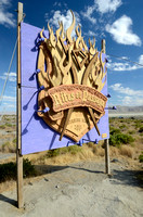 Burning Man 2011 Entrance Sign
