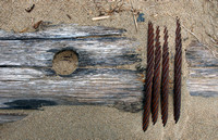 Wood, Wire and Sand