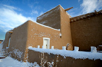 Taos New Mexico, Church San Francisco de Asis