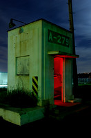 Guard Station on Mare Island at Night