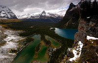 Lake Mary & Lake O'Hara from Opabin Prospect